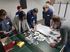 szkolenie ze Scruma w trakcie onboardingu w poznańskim STX Next
